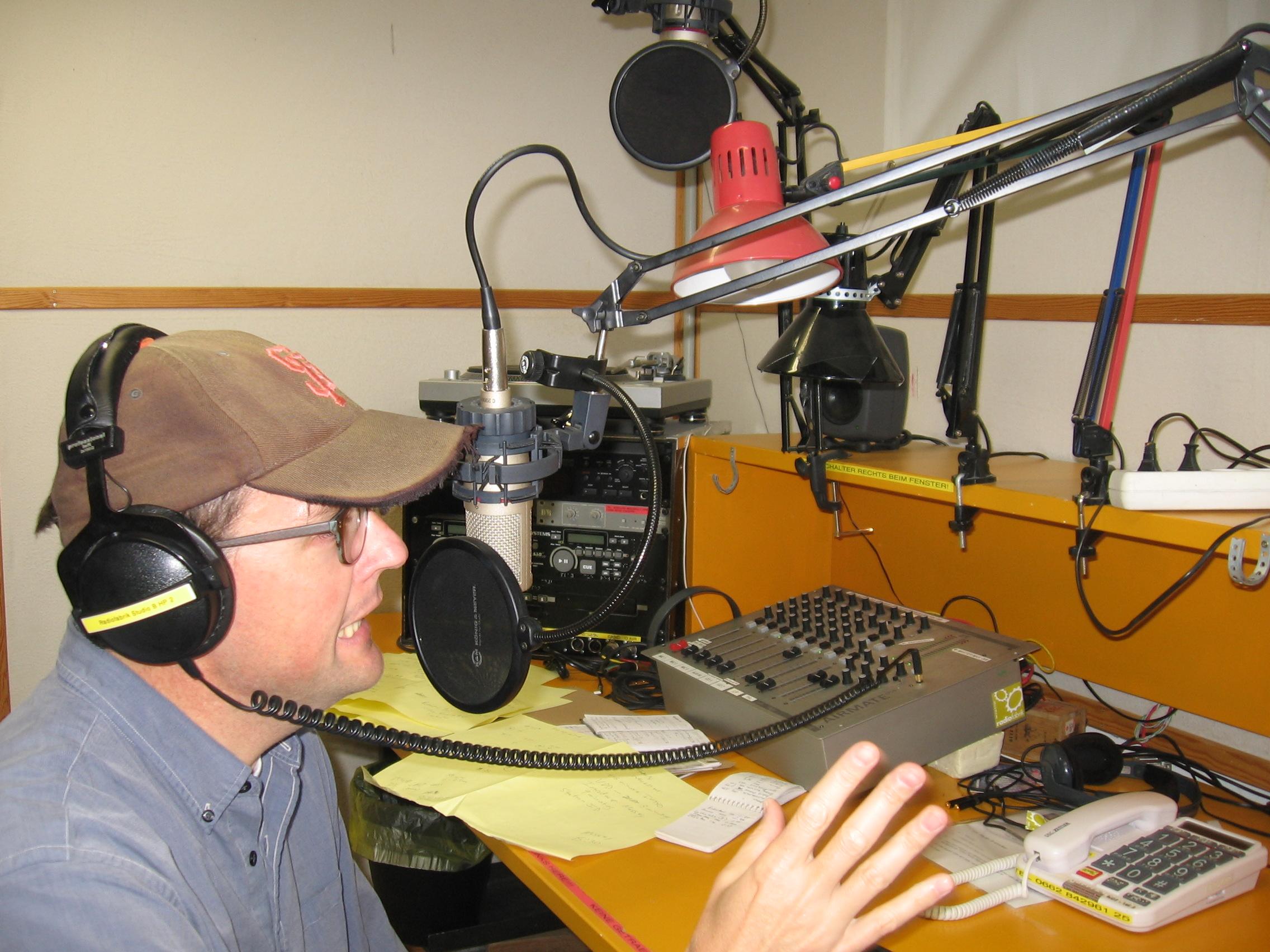 Kevin S. Fox in Studio B