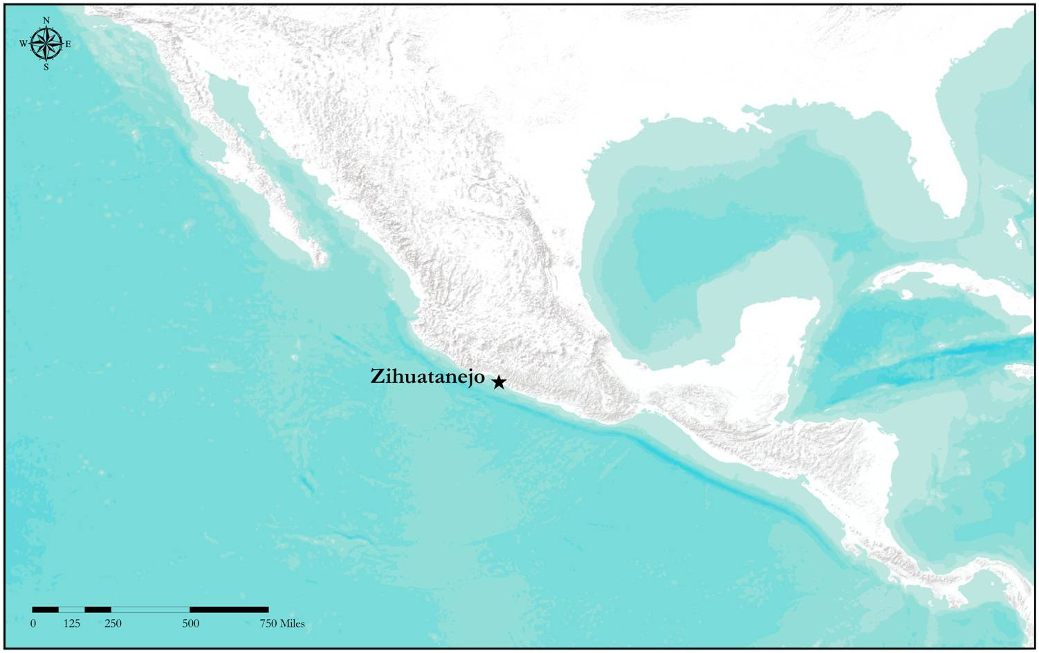 A Map to Zihuatanejo